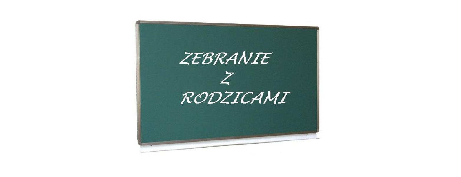 Zebranie rodziców Skrzatów (rocznik 2009 i młodsi).