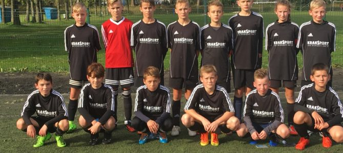 Młodziki zdobywają 3 punkty w Krakowie.
